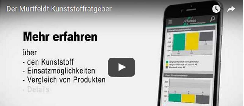 Kunststoffratgeber von Murtfeldt des Technischen Büro TOBER für mechanische Antriebstechnik