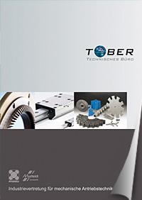 Katalog des Technischen Büro TOBER für mechanische Antriebstechnik