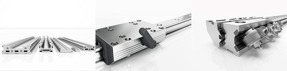 Linearführungen des Technischen Büro TOBER für mechanische Antriebstechnik