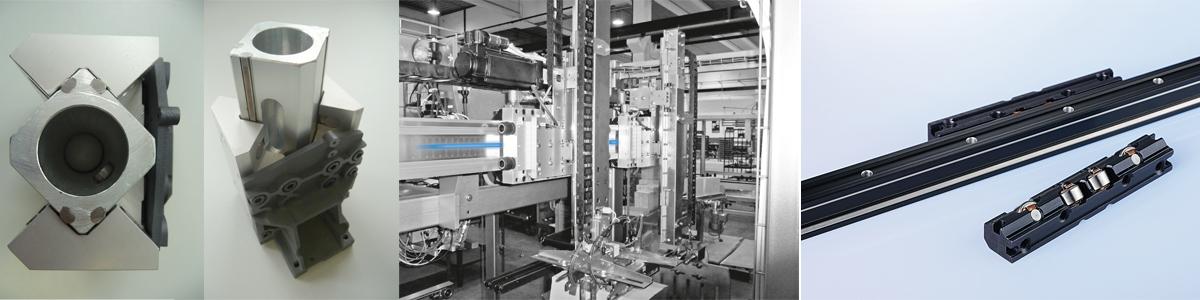 Linearsysteme des Technischen Büro TOBER für mechanische Antriebstechnik